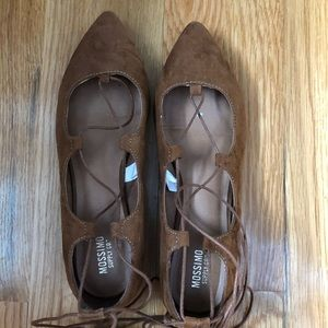 Shoes - Lace up Mossimo flats